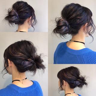 ショート ガーリー アッシュ ゆるふわ ヘアスタイルや髪型の写真・画像