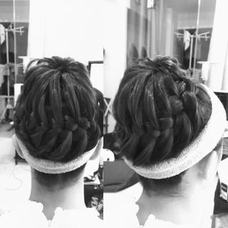 ショート ヘアアレンジ 外国人風 ミディアム ヘアスタイルや髪型の写真・画像