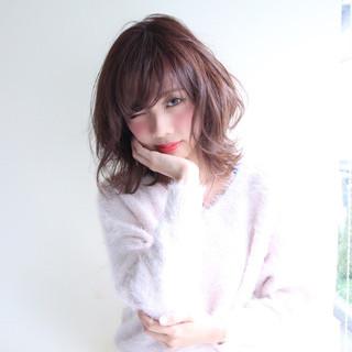 モテ髪 フェミニン ニュアンス ゆるふわ ヘアスタイルや髪型の写真・画像