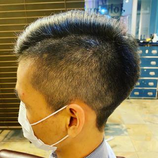ショート ストリート パーマ メンズヘア ヘアスタイルや髪型の写真・画像