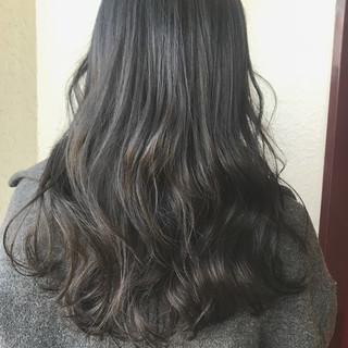 冬 デート 大人かわいい ナチュラル ヘアスタイルや髪型の写真・画像