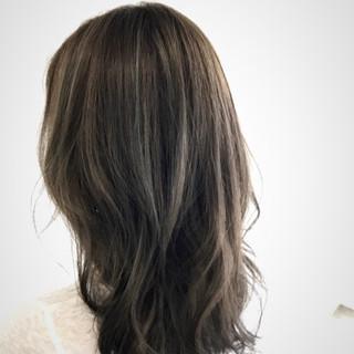 外国人風カラー 色気 透明感 夏 ヘアスタイルや髪型の写真・画像