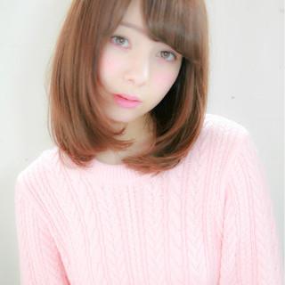 ゆるふわ 縮毛矯正 大人かわいい ナチュラル ヘアスタイルや髪型の写真・画像