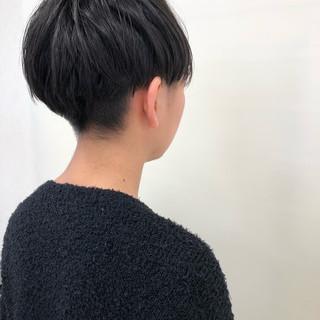 ナチュラル ショート ショートマッシュ ショートヘア ヘアスタイルや髪型の写真・画像