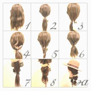 ショート ゆるふわ ヘアアレンジ 簡単ヘアアレンジ ヘアスタイルや髪型の写真・画像