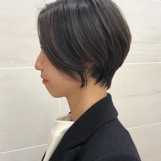 ストリート マッシュショート ショート アンニュイほつれヘア ヘアスタイルや髪型の写真・画像