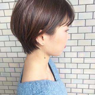 ショートボブ ショート ショートヘア ベリーショート ヘアスタイルや髪型の写真・画像