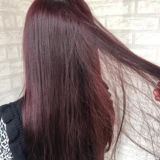フェミニン 透明感 ロング ガーリー ヘアスタイルや髪型の写真・画像