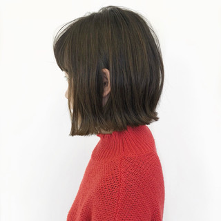 ボブ ナチュラル 簡単ヘアアレンジ スポーツ ヘアスタイルや髪型の写真・画像