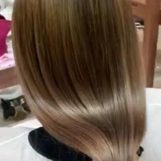 ロング 外国人風カラー 大人ハイライト ナチュラル ヘアスタイルや髪型の写真・画像