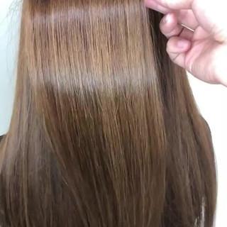 セミロング 髪質改善トリートメント 髪質改善 トリートメント ヘアスタイルや髪型の写真・画像