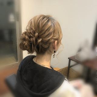 アップ ヘアアレンジ ヘアセット 結婚式 ヘアスタイルや髪型の写真・画像