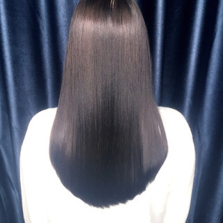 暗髪 黒髪 ロング ストレート ヘアスタイルや髪型の写真・画像