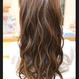 ハイライト デート ゆるふわ 大人かわいい ヘアスタイルや髪型の写真・画像