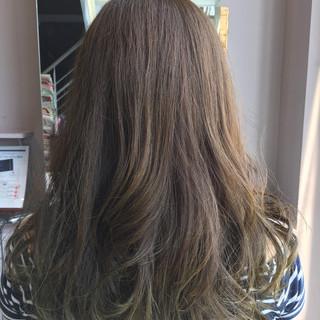 ヘアアレンジ マット グラデーションカラー 外国人風 ヘアスタイルや髪型の写真・画像