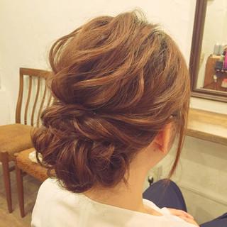 デート 雨の日 結婚式 ヘアアレンジ ヘアスタイルや髪型の写真・画像