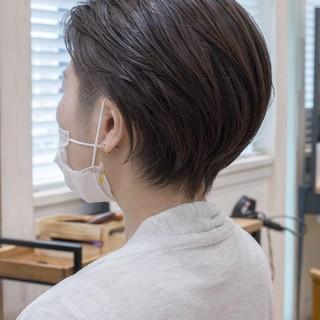 ショートカット ショート 刈り上げ ツーブロック ヘアスタイルや髪型の写真・画像