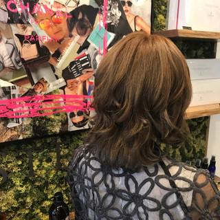 ガーリー ボブ 外国人風カラー ヘアスタイルや髪型の写真・画像