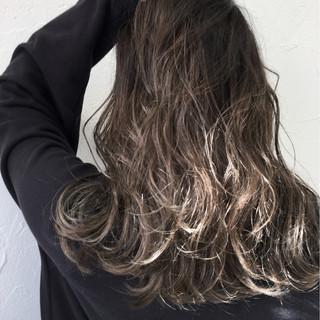 ハイライト ストリート イルミナカラー グラデーションカラー ヘアスタイルや髪型の写真・画像