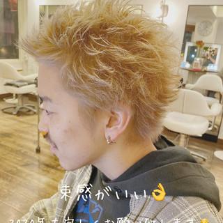 メンズショート ショート メンズヘア ストリート ヘアスタイルや髪型の写真・画像