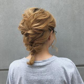 簡単ヘアアレンジ スポーツ ナチュラル アウトドア ヘアスタイルや髪型の写真・画像