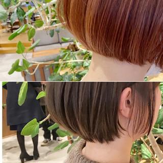 ベリーショート ボブ ミニボブ ショートヘア ヘアスタイルや髪型の写真・画像