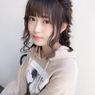 ミディアム 簡単ヘアアレンジ 成人式 アンニュイほつれヘア ヘアスタイルや髪型の写真・画像