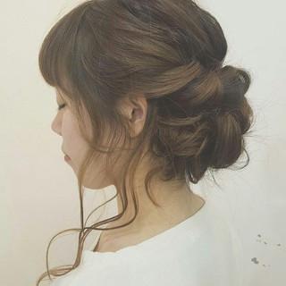 簡単ヘアアレンジ 波ウェーブ 外国人風 ショート ヘアスタイルや髪型の写真・画像