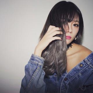 グラデーションカラー ストリート 渋谷系 アッシュ ヘアスタイルや髪型の写真・画像
