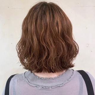 ゆるふわパーマ  ボブ パーマ ヘアスタイルや髪型の写真・画像