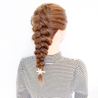 大人女子 結婚式 簡単ヘアアレンジ ロング ヘアスタイルや髪型の写真・画像