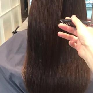 艶髪 ロング 似合わせカット 美髪 ヘアスタイルや髪型の写真・画像