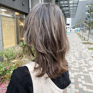 レイヤーヘアー レイヤーカット ストリート ヘアカラー ヘアスタイルや髪型の写真・画像