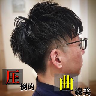 ショート スキンフェード フェードカット 刈り上げ ヘアスタイルや髪型の写真・画像
