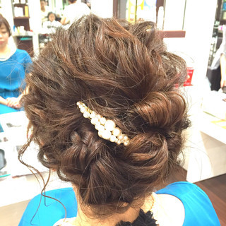 ミディアム 外国人風 フェミニン 大人かわいい ヘアスタイルや髪型の写真・画像