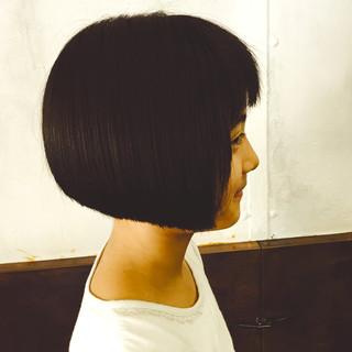 色気 モード 刈り上げ ボブ ヘアスタイルや髪型の写真・画像