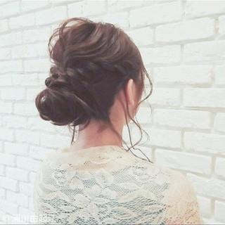 ナチュラル デート ゆるふわ 結婚式 ヘアスタイルや髪型の写真・画像
