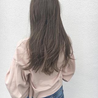 斜め前髪 色気 デート ハイライト ヘアスタイルや髪型の写真・画像