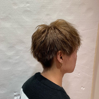 メンズショート メンズ ナチュラル ショート ヘアスタイルや髪型の写真・画像