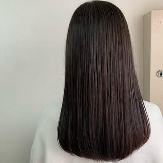 ナチュラル ロング 髪質改善トリートメント 最新トリートメント ヘアスタイルや髪型の写真・画像