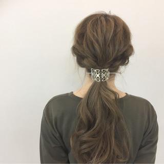 簡単ヘアアレンジ ロング ヘアアレンジ 簡単 ヘアスタイルや髪型の写真・画像