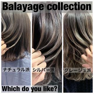 ナチュラル ブリーチ ロング ヘアアレンジ ヘアスタイルや髪型の写真・画像