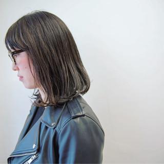 大人女子 色気 切りっぱなし ロブ ヘアスタイルや髪型の写真・画像