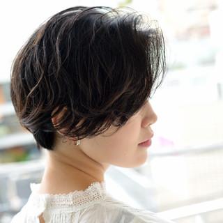 ショートボブ 外国人風 モード ボブ ヘアスタイルや髪型の写真・画像