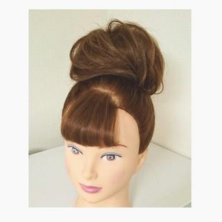 ゆるふわ ヘアアレンジ フェミニン ナチュラル ヘアスタイルや髪型の写真・画像