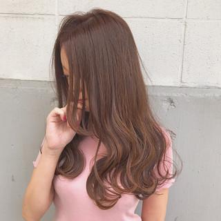 アンニュイ ロング 透明感 フェミニン ヘアスタイルや髪型の写真・画像