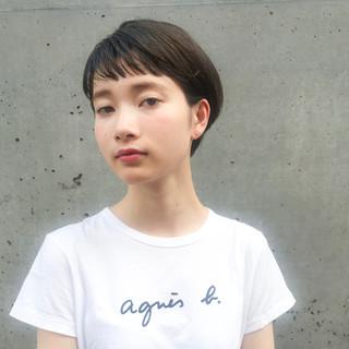 ヘアアレンジ ショート 涼しげ 夏 ヘアスタイルや髪型の写真・画像