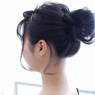 ヘアアレンジ 色気 夏 ウェットヘア ヘアスタイルや髪型の写真・画像