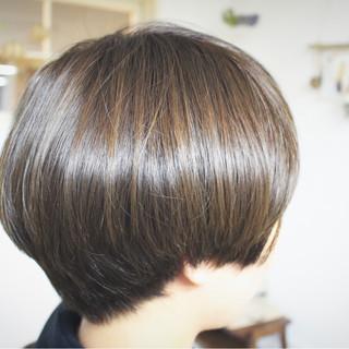 色気 アッシュ ナチュラル マット ヘアスタイルや髪型の写真・画像