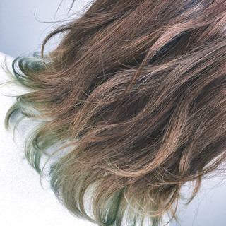 外国人風 ストリート ミディアム リラックス ヘアスタイルや髪型の写真・画像